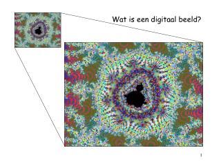 Wat is een digitaal beeld?