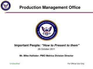 Production Management Office