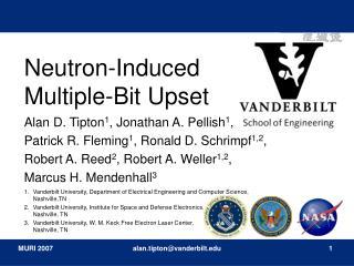Neutron-Induced Multiple-Bit Upset