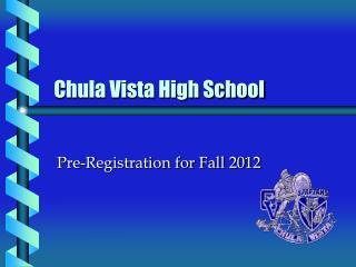 Chula Vista High School