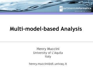 Multi-model-based Analysis