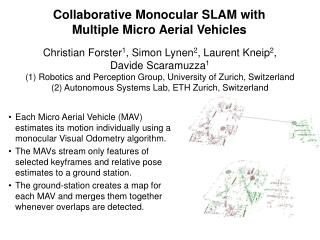 Collaborative Monocular SLAM with Multiple Micro Aerial Vehicles