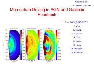 Momentum Driving in AGN and Galactic Feedback