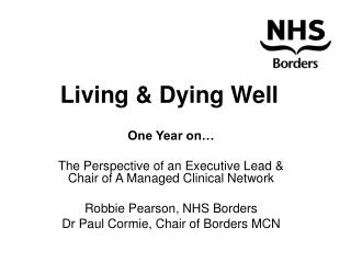 Living & Dying Well