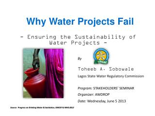 Why Water Projects Fail