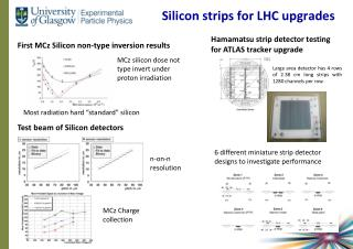Silicon strips for LHC upgrades