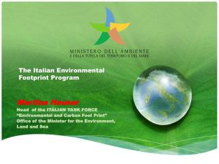 The Italian Environmental Footprint Program