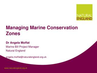 Managing Marine Conservation Zones
