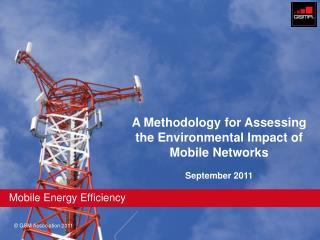 Mobile Energy Efficiency