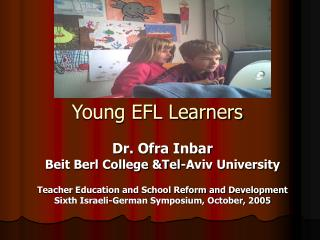 Young EFL Learners