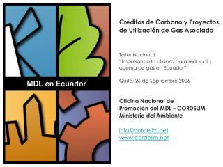 MDL en Ecuador