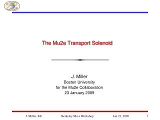 The Mu2e Transport Solenoid