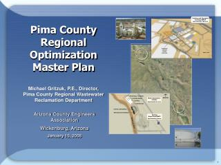 Pima County  Regional  Optimization  Master Plan