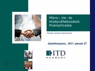 Mikro-, kis- és középvállalkozások finanszírozása