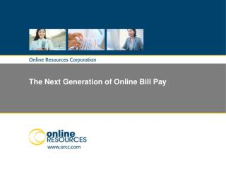 The Next Generation of Online Bill Pay