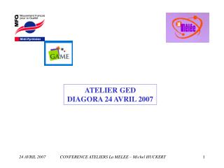 ATELIER GED DIAGORA 24 AVRIL 2007