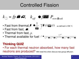 Neutron Life Cycle