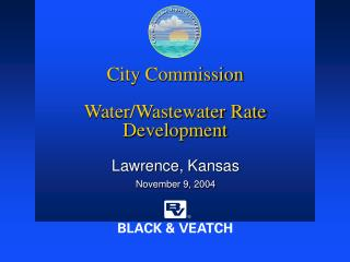 City Commission  Water/Wastewater Rate Development