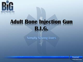 Adult Bone Injection Gun    B.I.G.