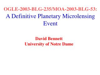 OGLE-2003-BLG-235/MOA-2003-BLG-53:  A Definitive Planetary Microlensing Event