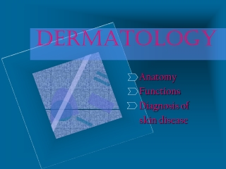 PRIMARY SECONDARY SKIN LESIONS
