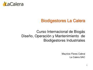 Biodigestores La Calera