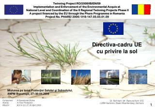 Directiva - c adru UE  cu privire la sol