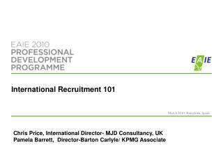 International Recruitment 101