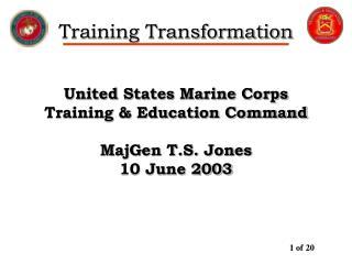 Training Transformation