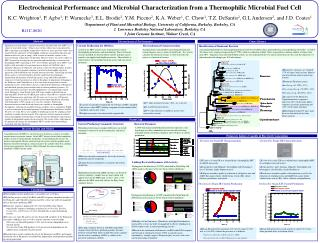 Electrochemical Performance and Microbial Characterization from a Thermophilic Microbial Fuel Cell