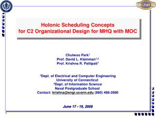 June 17 - 19, 2008