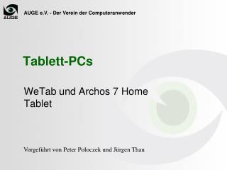 Tablett-PCs