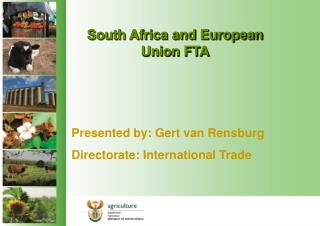 South Africa and European Union FTA