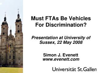 Must FTAs Be Vehicles For Discrimination?