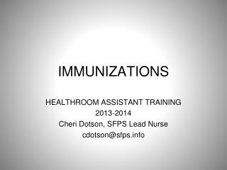 the importance of immunizations essay