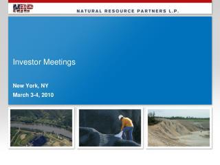 Investor Meetings