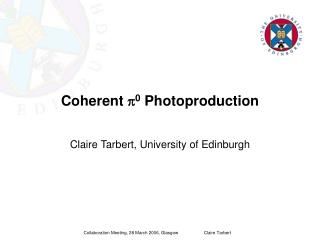 Coherent  p 0  Photoproduction