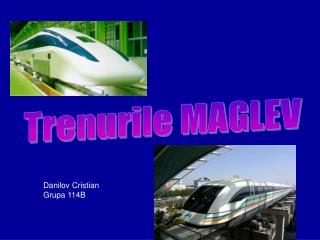 Trenurile MAGLEV