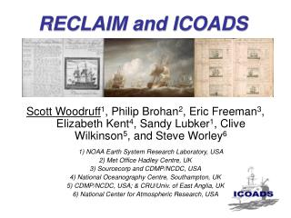 RECLAIM and ICOADS