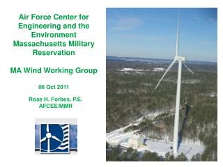 Air Force Center for Engineering and the Environment Massachusetts Military Reservation