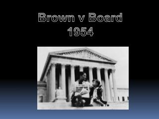 Brown v Board 1954