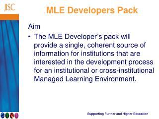 MLE Developers Pack