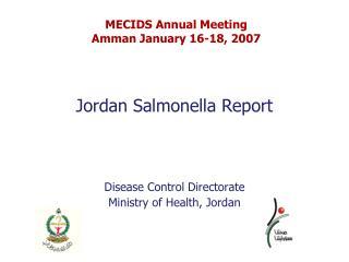 Jordan Salmonella Report