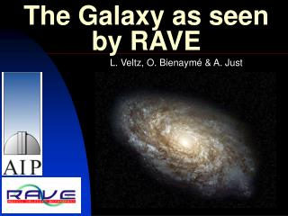 The Galaxy as seen by RAVE