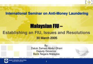Malaysian FIU