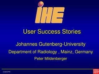 User Success Stories