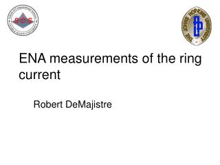 ENA measurements of the ring current