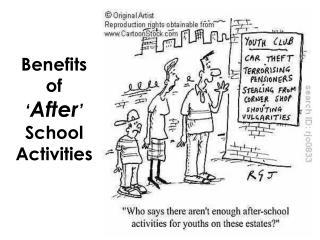 Benefits  of  ' After ' School  Activities