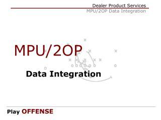 MPU/2OP