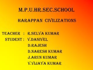 M.P.U.Hr.Sec.SCHOOL